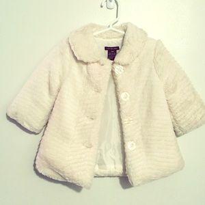 Calvin Klein🖤faux fur🖤 toddler's jacket